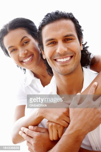 Couple having a good time together : Stock Photo