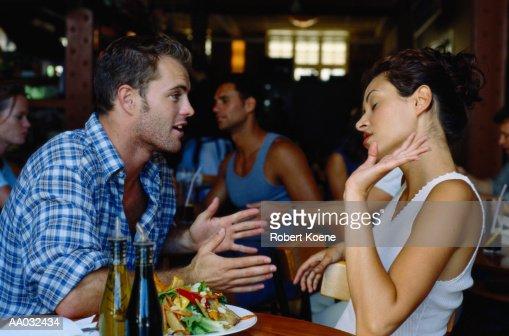 Couple Having an Argument : Stock Photo