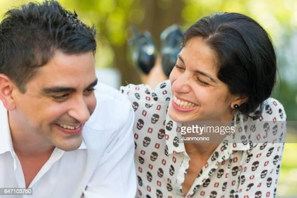 couple having good time