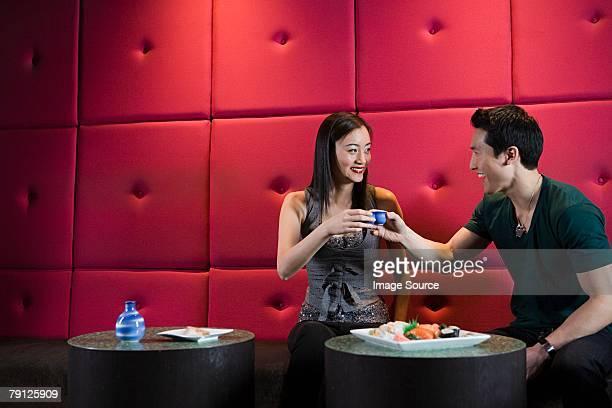 あるカップルのお食事