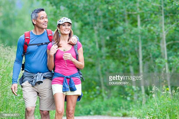 Couple Hiking