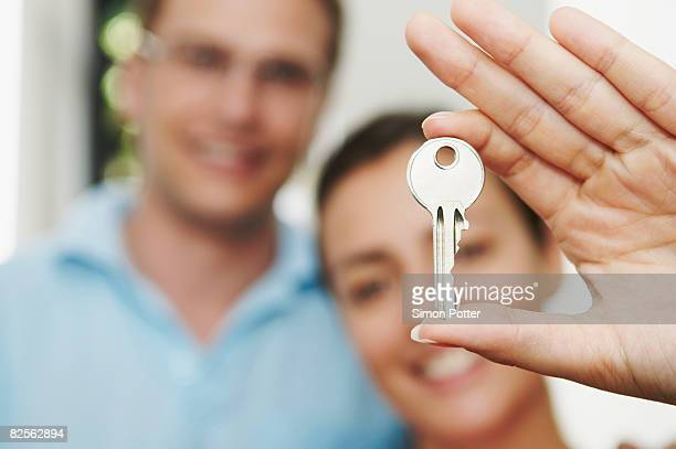 Couple hold key to new property