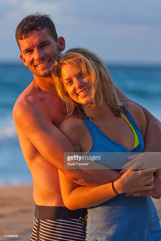 Couple holding each other : Stock Photo
