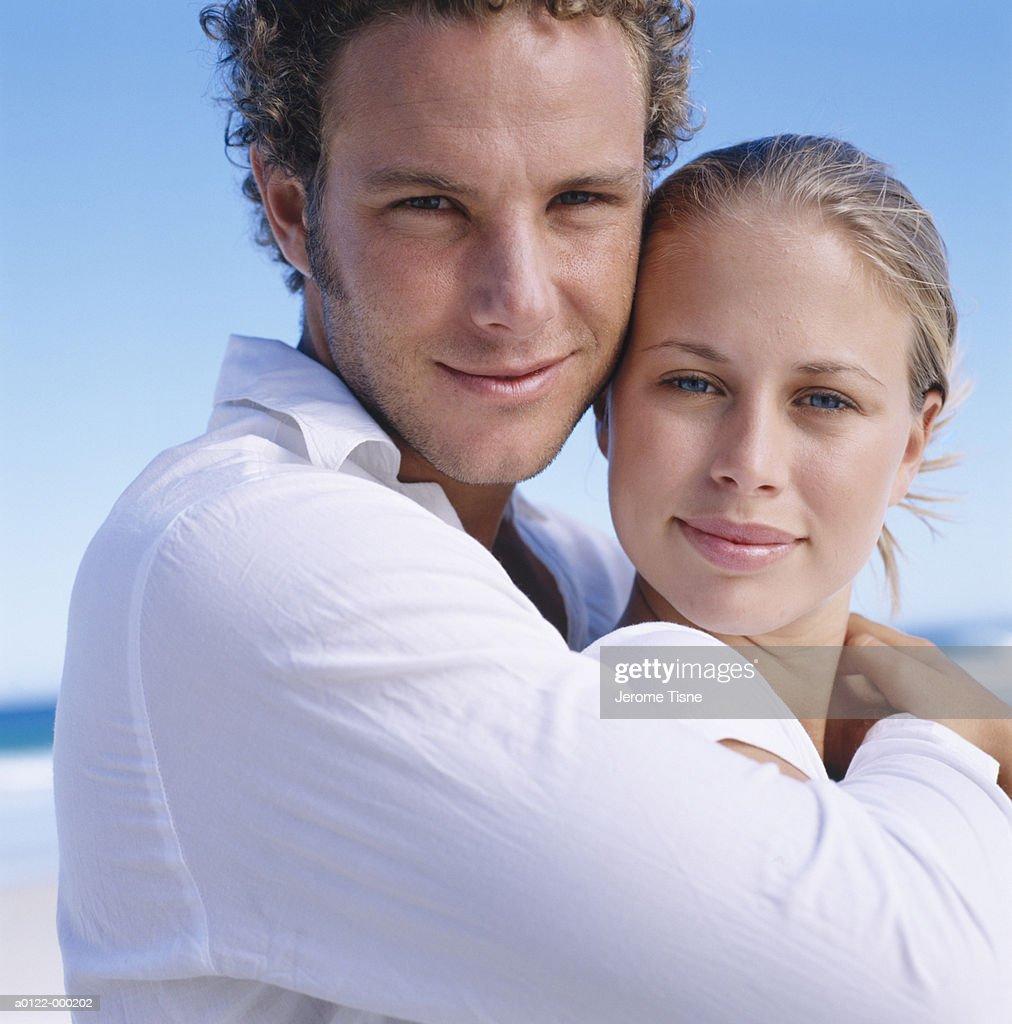 Couple Hugging : Stock Photo