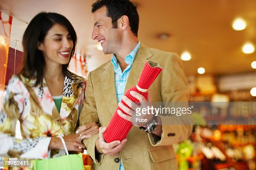 Couple in a Gift Shop