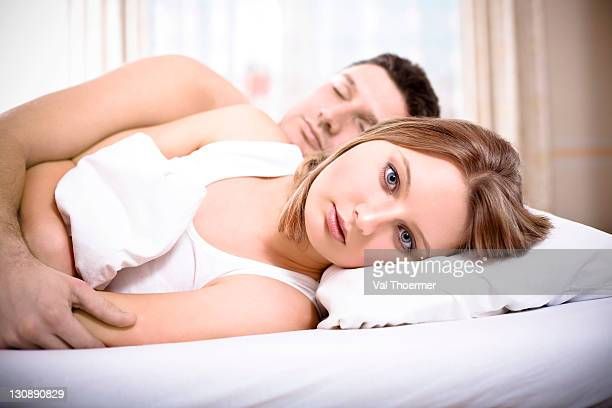 A couple in bed
