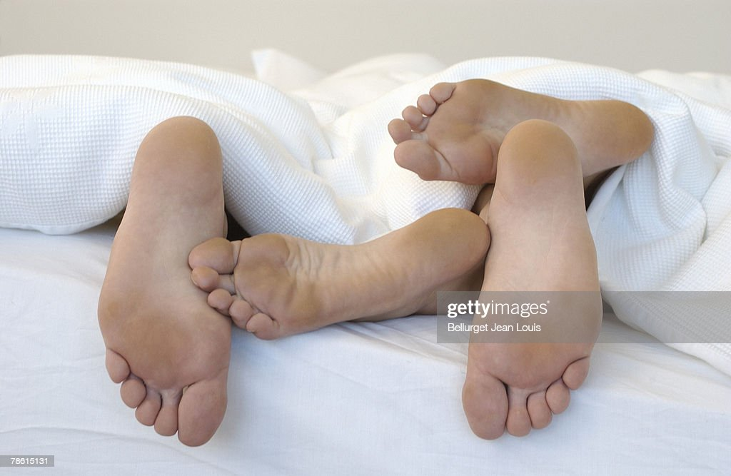 Couple in bed : Stock Photo