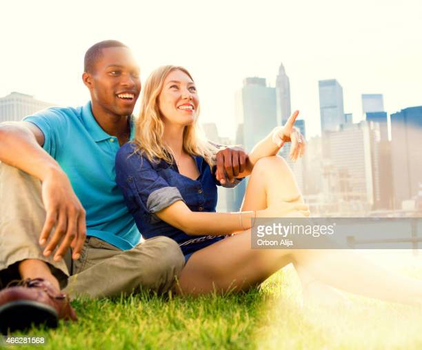 Couple in New York