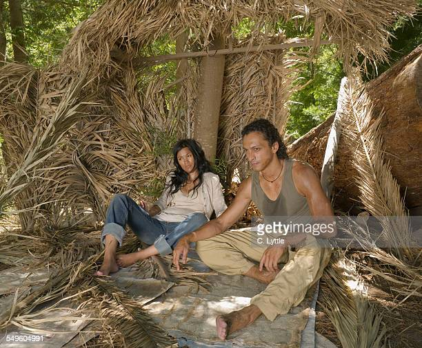 Couple in Shelter