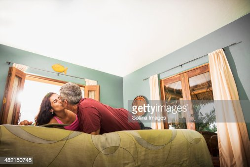 Couple And Kiss And Bedroom Stock Photos And Pictures Getty Images
