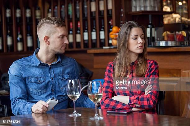 Couple lacking communication