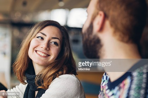 Couple laughing : Stock Photo