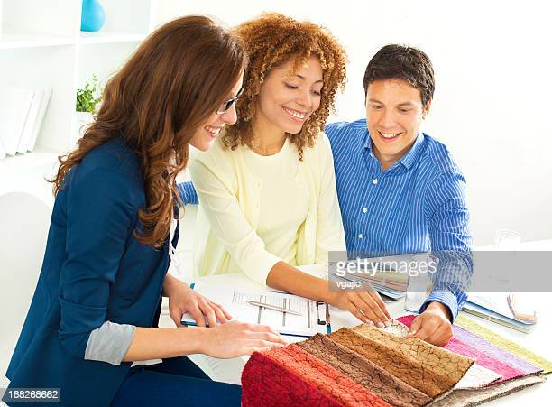 Couple Meeting with Interior Designer