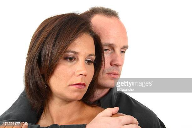 Couple Mourning and Grieving