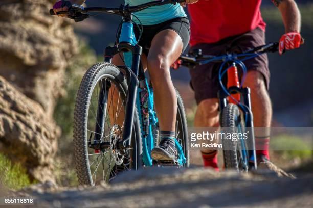 couple Mt. Biking