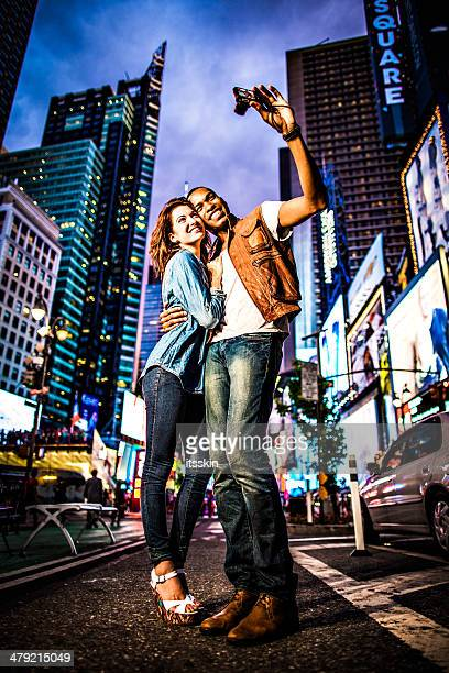 Paar New York City-lifestyle