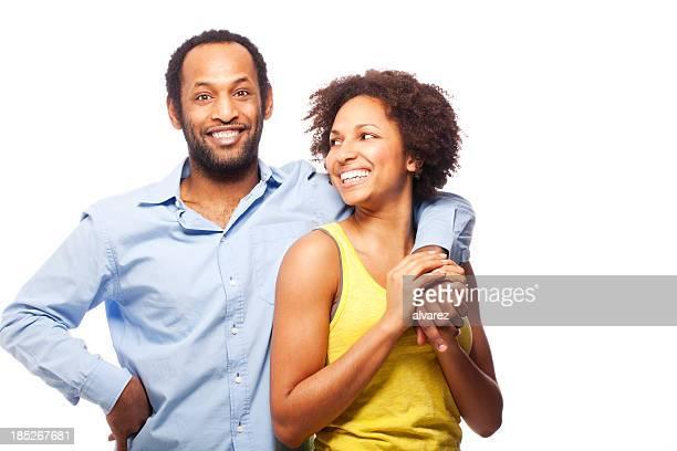 Paar Afrikanischer Abstammung