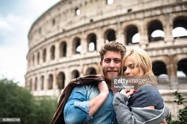Coppia di turisti a San San Valentino a Roma