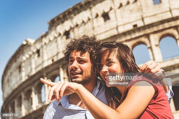 Coppia di turisti a Roma