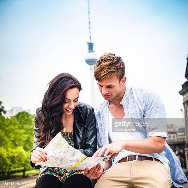 カップル観光リーティング、ベルリンマップ