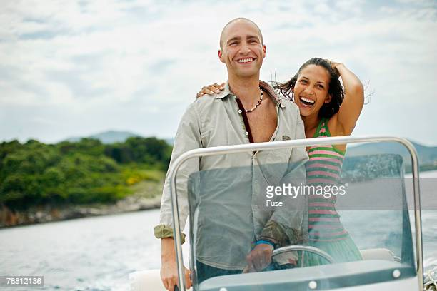 Couple on a Boat Trip