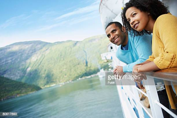 Couple on a Cruise Boat