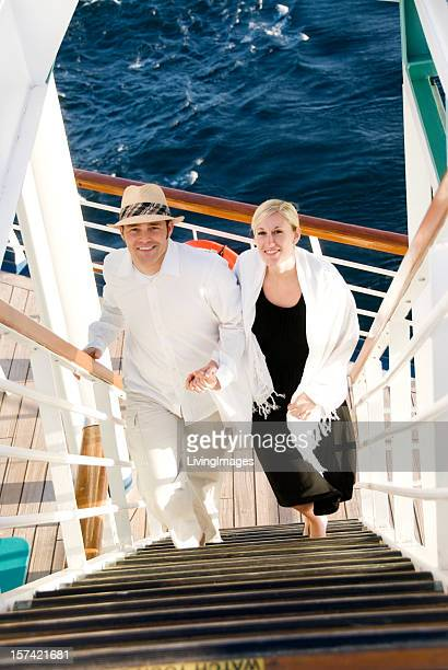 Couple On Cruise Ship Stock Photos And Pictures