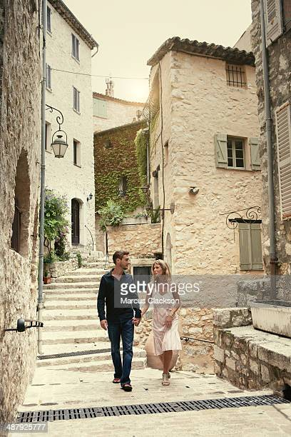 Couple on Holiday in Provence.South of France