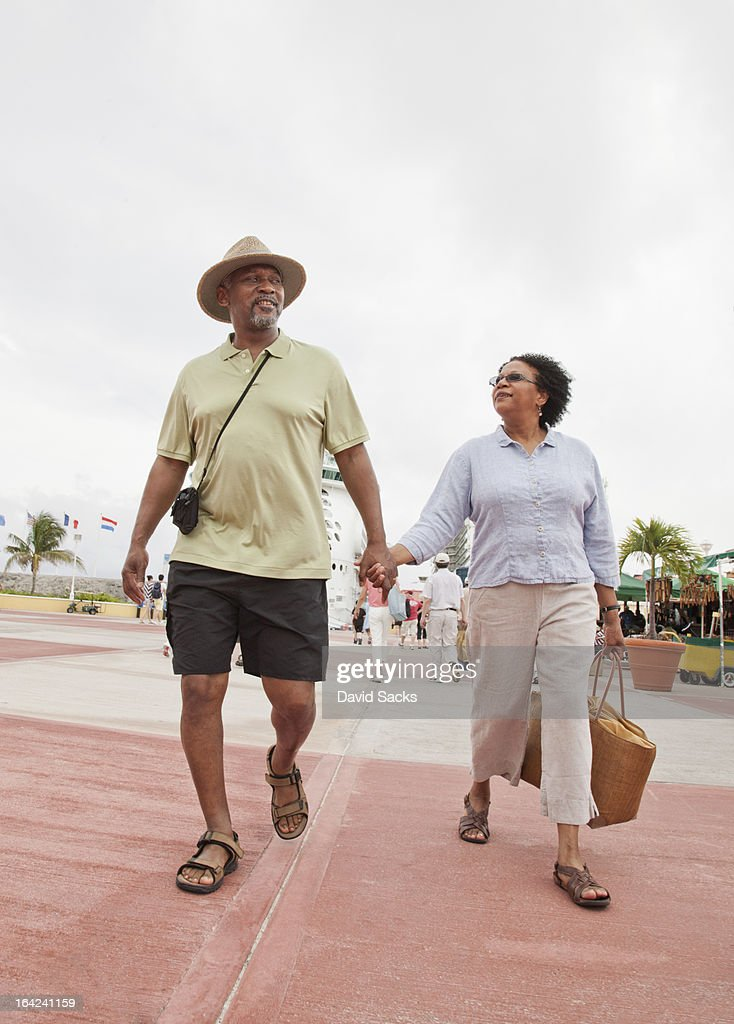 Couple on island : Stock Photo