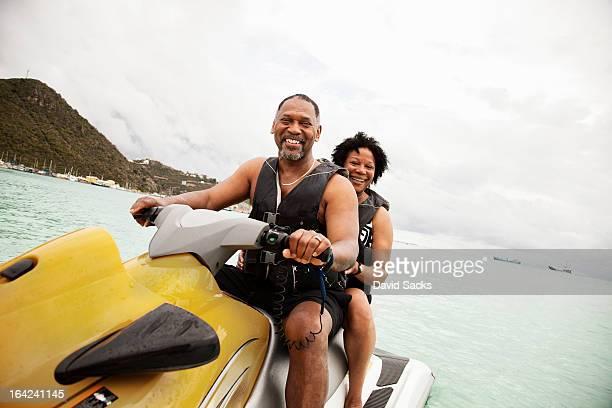 Couple on jetski