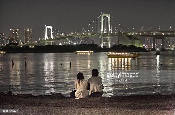 Couple on the Beach, Tokyo