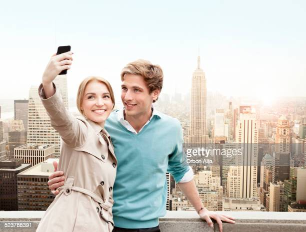 Couple on Vacation in New York City