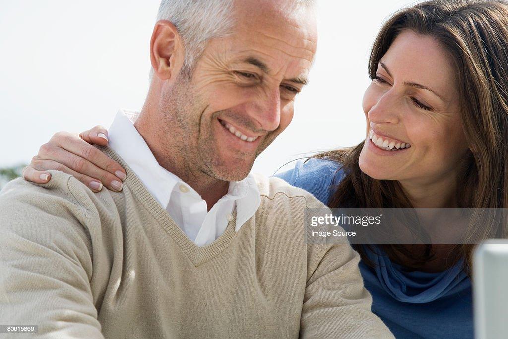 A couple : Stock Photo