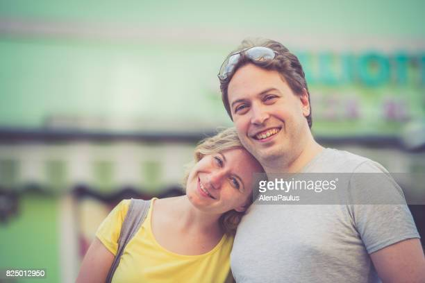 Couple portrait, Italy