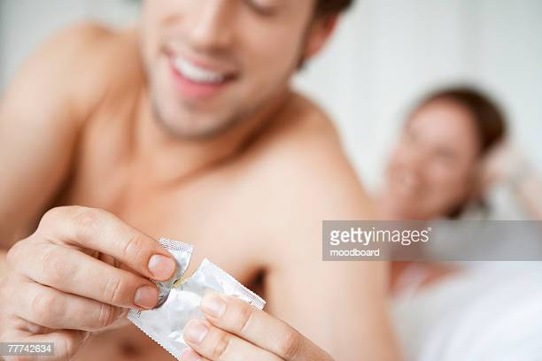 Couple Practicing Safe Sex