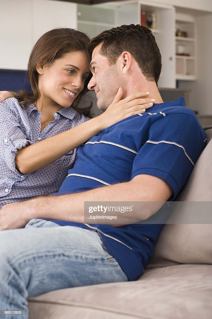 Couple relaxing together : Stock Photo