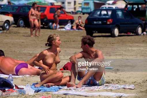 naket nice beach couple