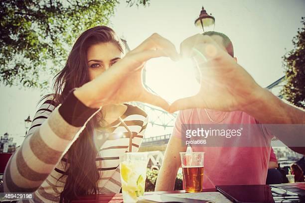 Paar, die es liebt London