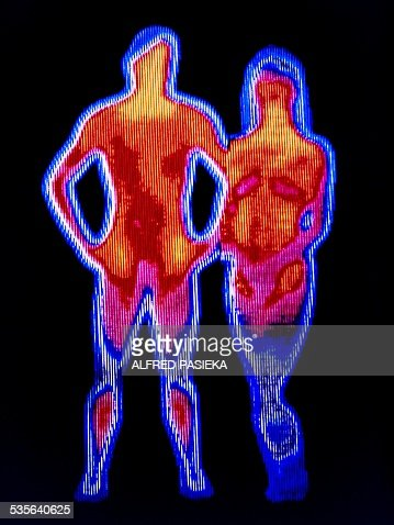 Couple, thermogram