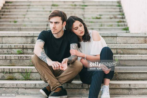 Couple unhappiness