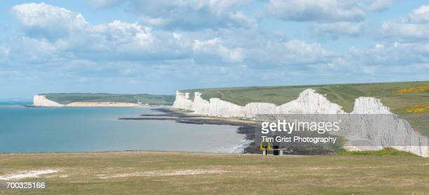 Couple Viewing the Seven Sisters Panorama