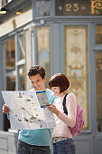 Couple with a City Map