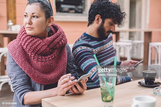 Couple with communication problems