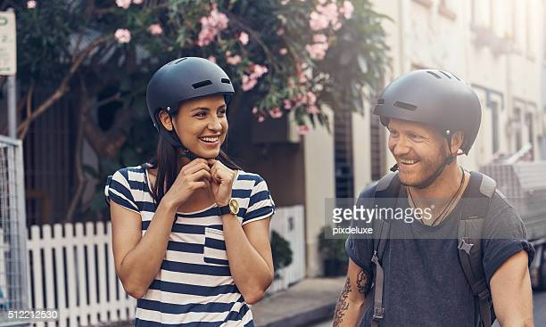 Couple's cycling