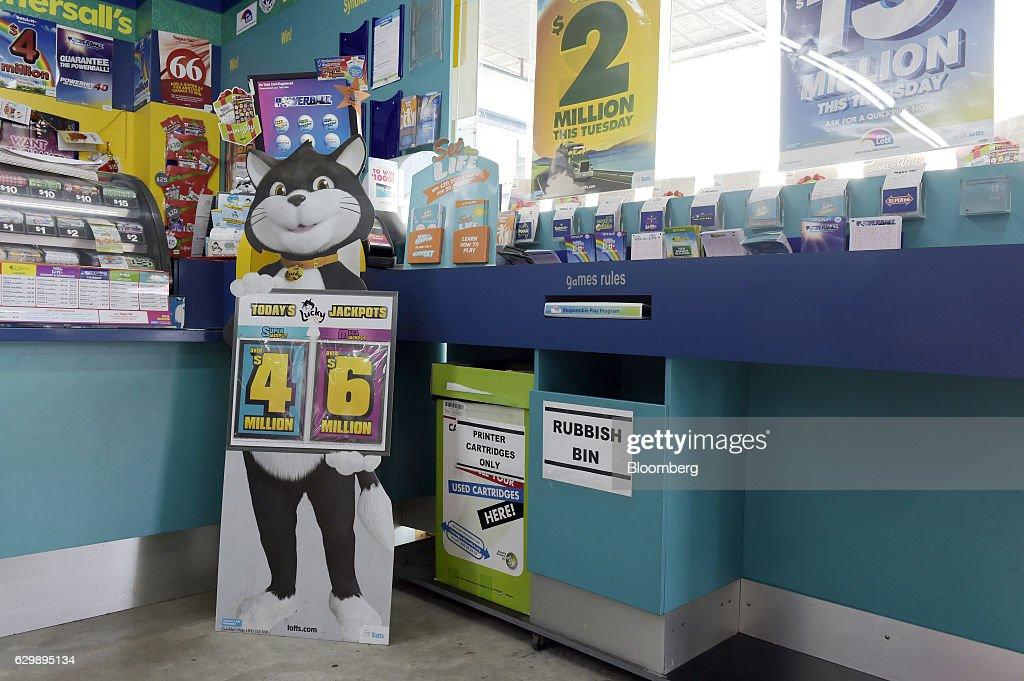 Coupons for lottery games by Tatts Group Ltd. and other companies sit at a counter at a newsagent's store in Melbourne, Australia, on Thursday, Dec. 15, 2016. A consortium including Morgan Stanley and KKR & Co. offered as much as A$7.3 billion ($5.5 billion) for Australian betting and lotteries business Tatts Group, setting up a potential bidding war with Tabcorp Holdings Ltd. Photographer: Carla Gottgens/Bloomberg via Getty Images
