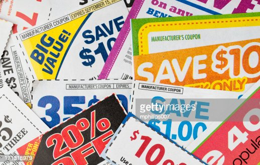 Coupons : Stock Photo