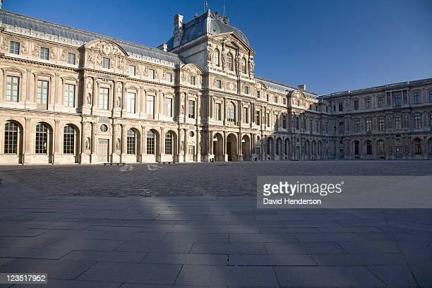 Cour carree of the Louvre, Paris, France