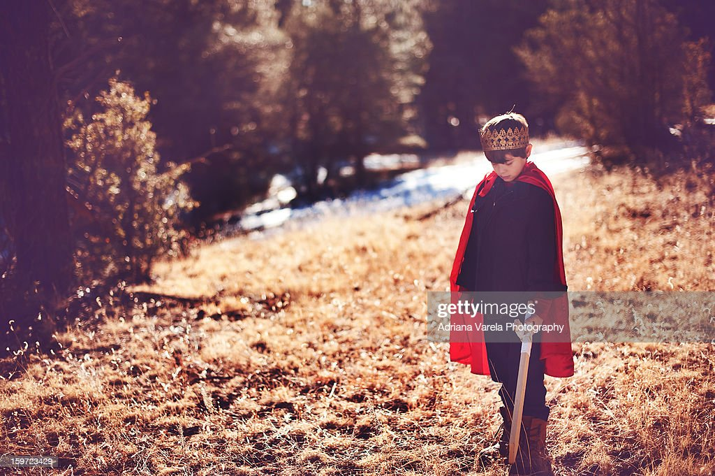 Courage seeker : Stock Photo