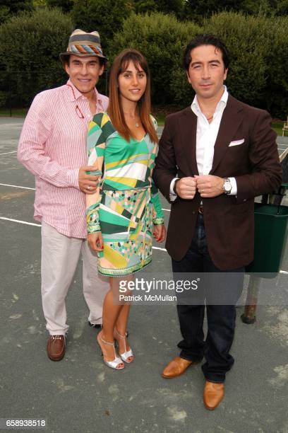R Couri Hay Rachel Heller and Salvatore Strazzullo attend PULSE OF THE CITY GALA Comes To The Hamptons Hosted by the CARDIOVASCULAR RESEARCH...
