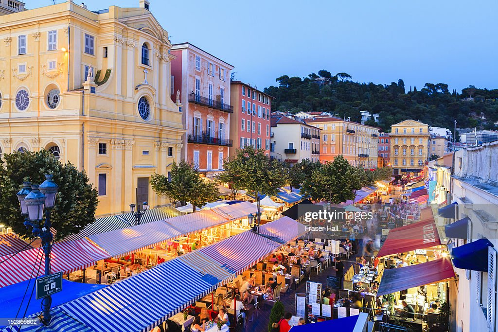 Cours Saleya, Nice : Stock Photo